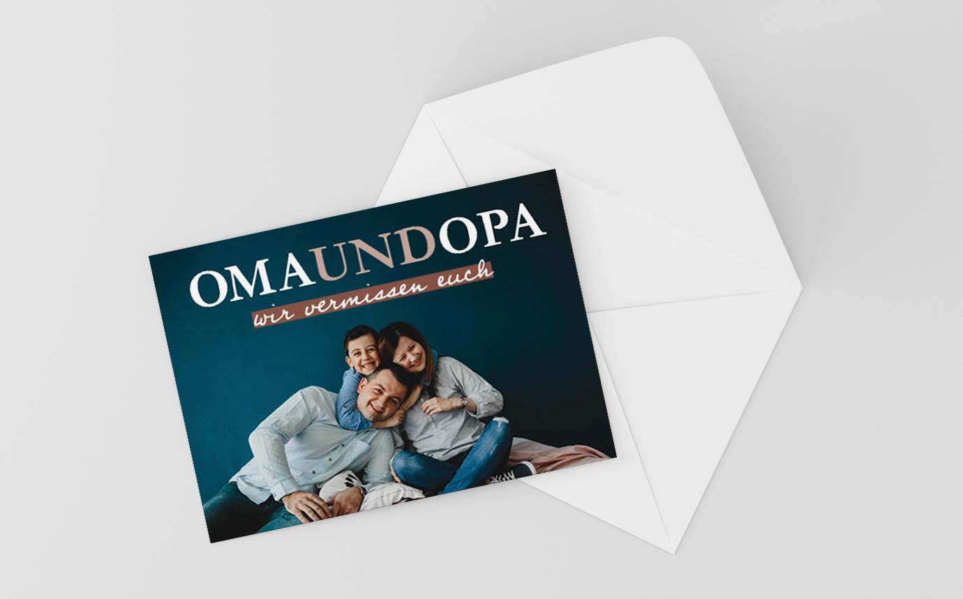 Postkarte Klassisch