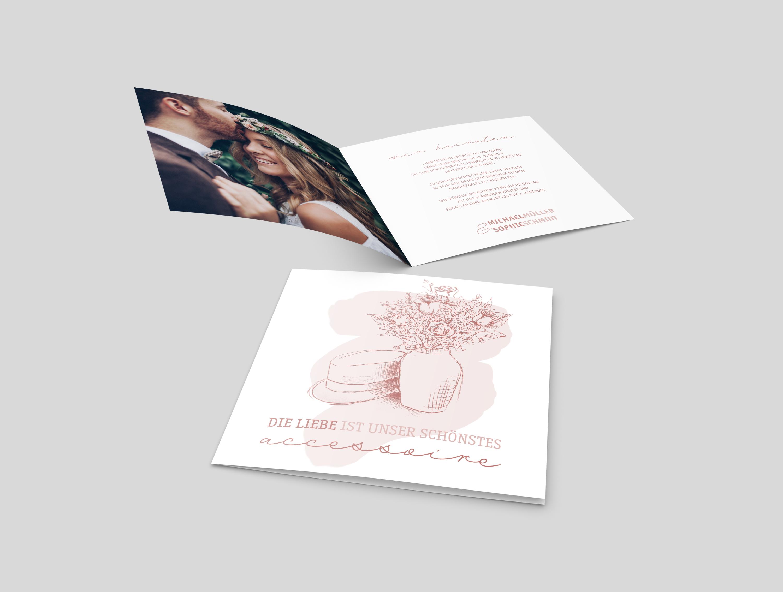Hochzeitseinladung Accessoire