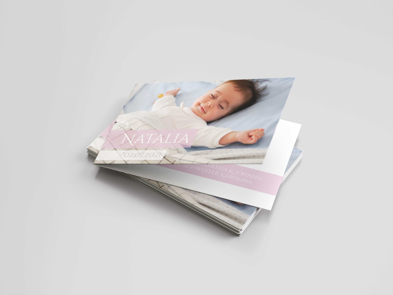 Babykarte Lebensdrama