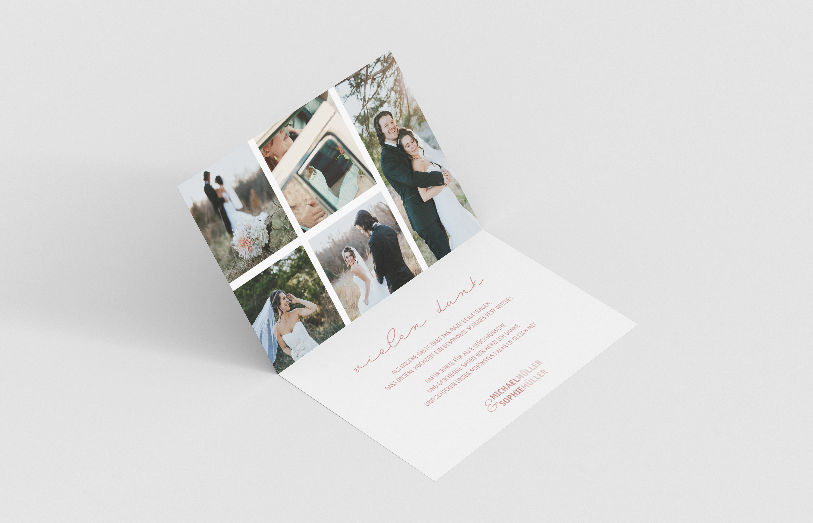 Danksagungskarte Hochzeit Accessoire