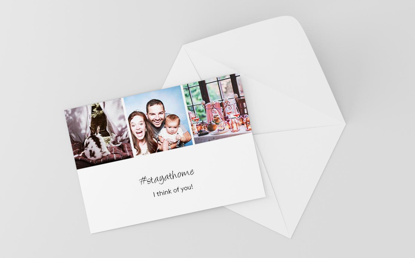 Postkarte Fotocollage