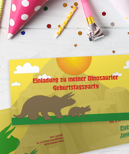 Einladungskarten Kinder