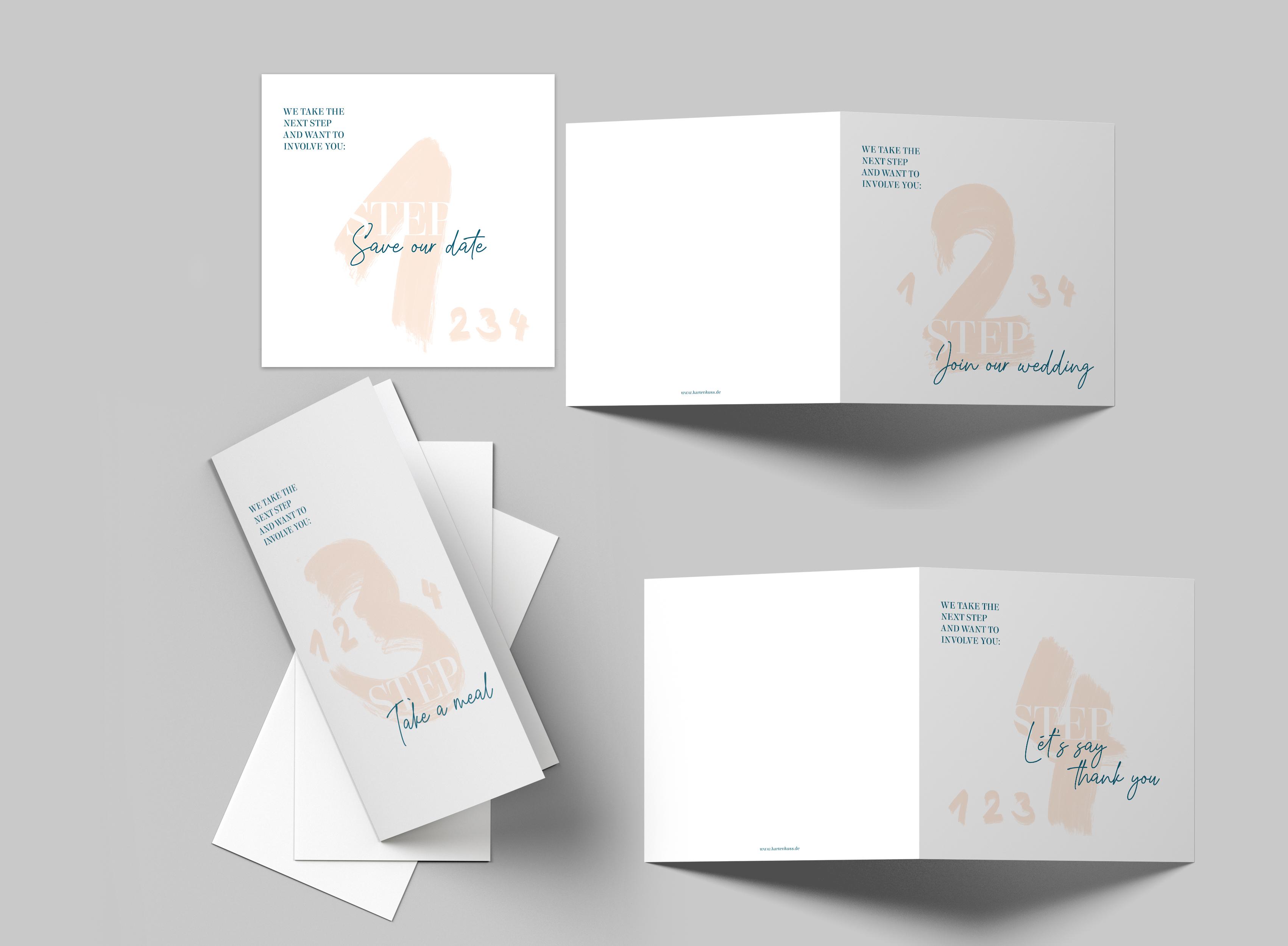 Hochzeitskarte Step by Step